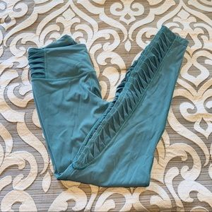 Victoria secret total knockout leggings sage blue